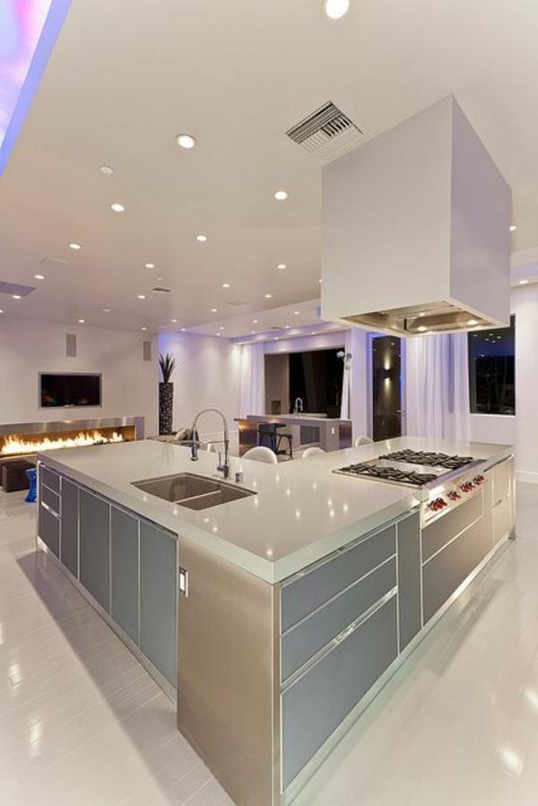 super-tolle-Küchengestaltung-moderne-Wohnung moderne Küchenplanung