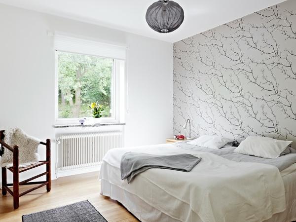 tapeten-farben-ideen-cooles-weißes-schlafzimmer