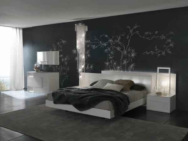tapeten schlafzimmer modern ? usblife.info - Schlafzimmer Tapeten Ideen