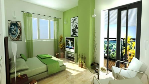 Bettwasche Grun Orange : Schlafzimmer Orange Grün  Neue coole Tapeten Farben Ideen grüne