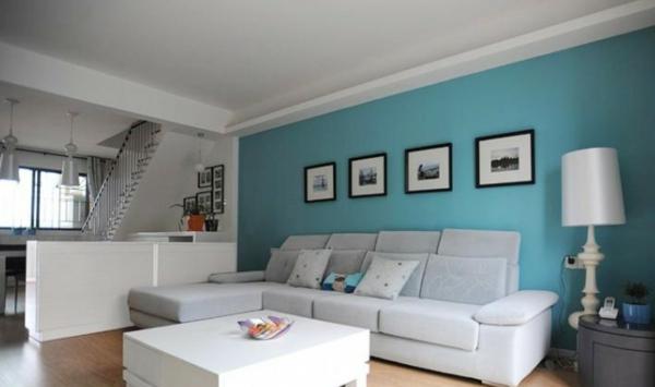 tapeten-farben-ideen-hell-blau