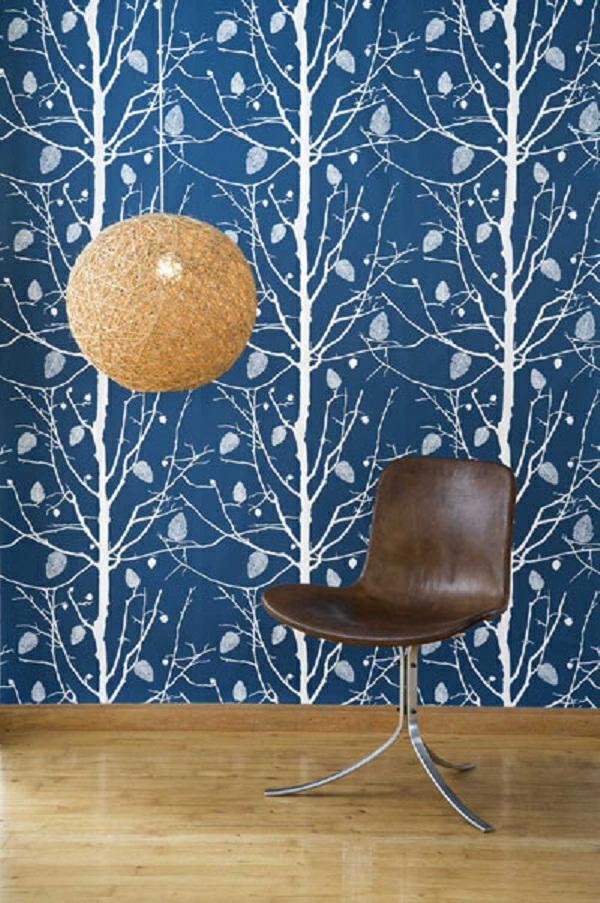 Jugendzimmer Tapeten Farben : tapeten-farben-ideen-interessante-wandgestaltung