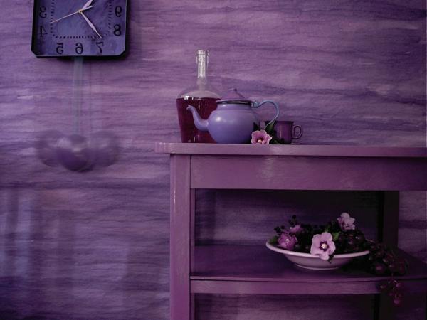 tapeten-farben-ideen-lila-gestaltung