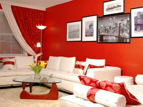 tapeten-farben-ideen-super-cooles-wohnzimmer-mit-roten-wänden
