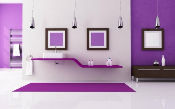 tapeten-farben-ideen-weiß-und-lila-kombinieren