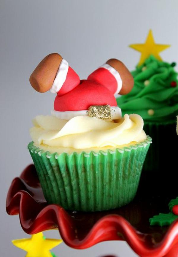 -tolle-Ideen-für-Weihnachtscupcakes-Ideen-Cupcakes-für-Weihnachten-zu-verzieren