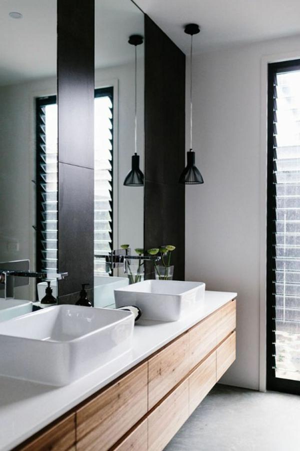 tolle-Ideen-für-eine-moderne-Badezimmergestaltung-Unterschrank-aus-Holz