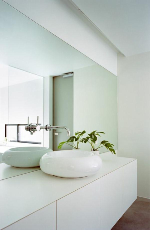 tolle-Ideen-für-eine-moderne-Badezimmergestaltung-runder-Waschbecken