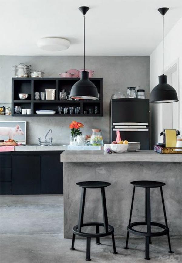 tolle--Küchengestaltung-moderne-Wohnung-moderne-Küche