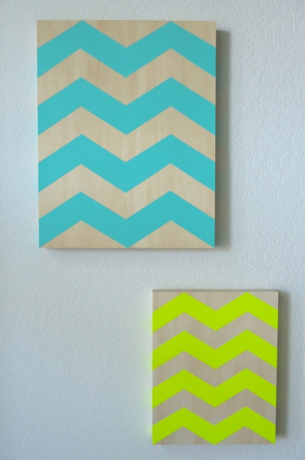 tolle-Wanddeko-mit-frischen-neon-Farben