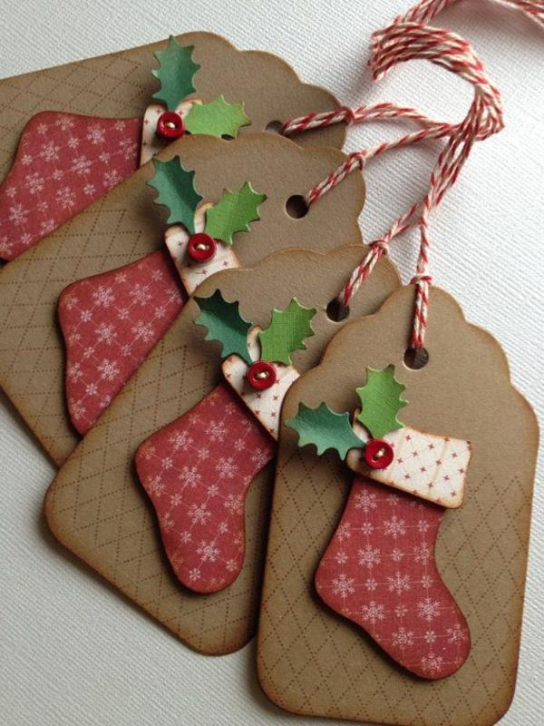 Gastebuch Bilder Selber Gestalten : Schöne Weihnachtskarten selber basteln  mehr als 100 Ideen!
