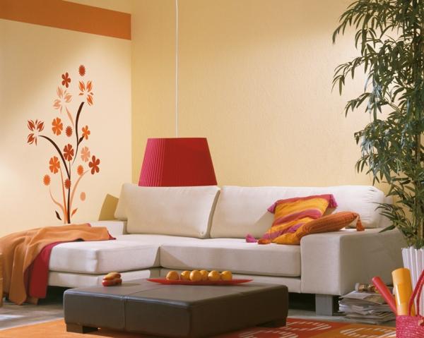 tolle-und--moderne--Eierschalenfarben-für-ein-schönes-Wohnzimmer