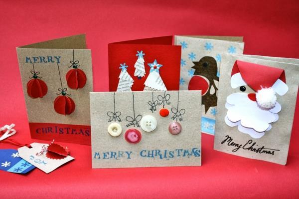 viele-wunderschöne-Weihnachtskarten-zum-Selbermachen
