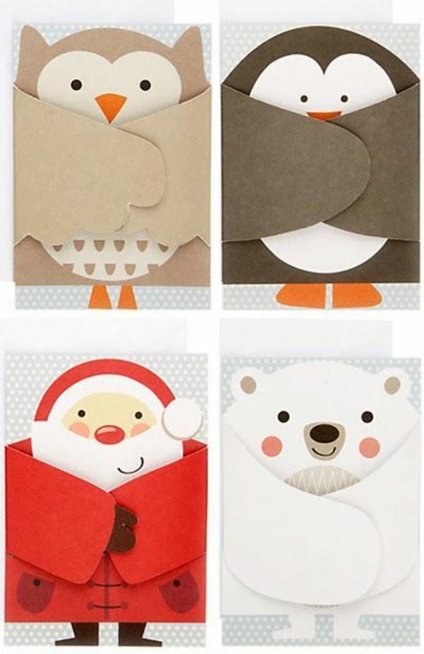 vier-Tolle--Ideen-für-Gestaltung-von- Weihnachtskarten