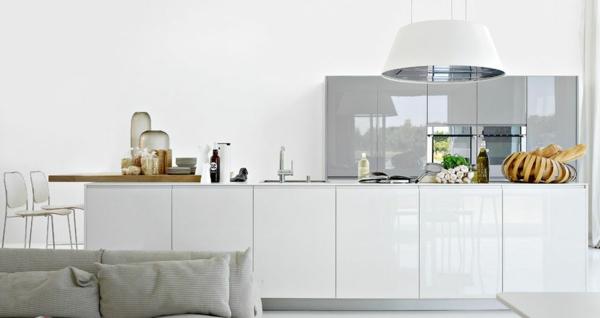Weiße kleine küche einrichten: 30 vorschläge!   archzine.net