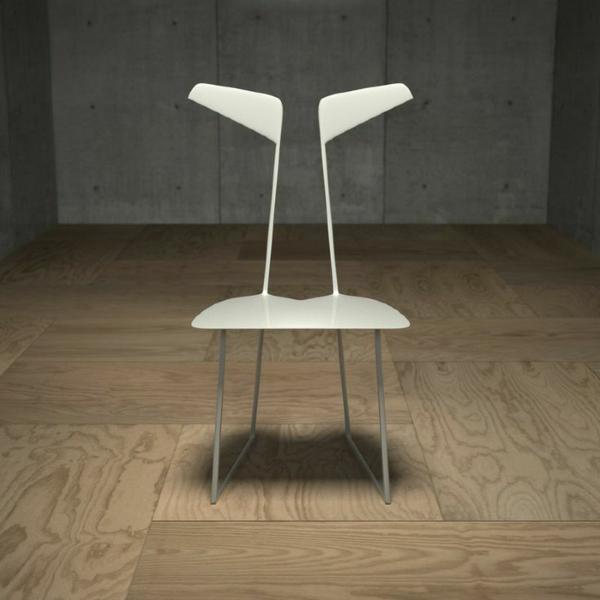 weißer-.-designer-Stuhl-mit-ultra-modernem-Design