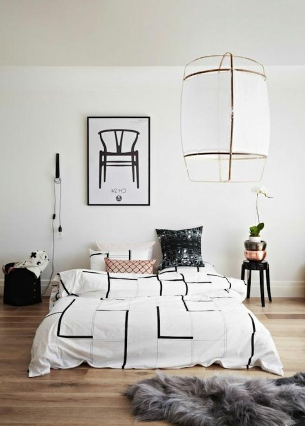 Schlafzimmer modern weiß  Schlafzimmer modern gestalten: 48 Bilder! - Archzine.net