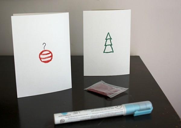 weihnachtsgeschenke-basteln-interessante-karten