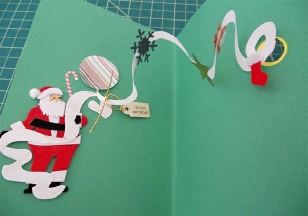 weihnachtskarten-ideen-herrliche-gestaltung