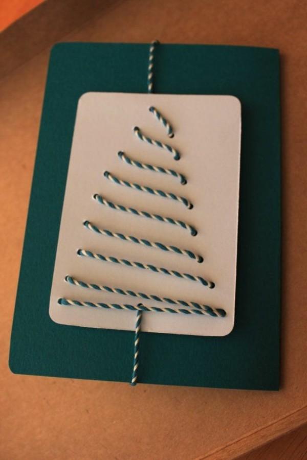 weihnachtskarten-ideen-tolle-geschenke-basteln