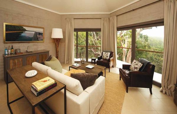 wohnzimmer-rustikal-beige-nuance
