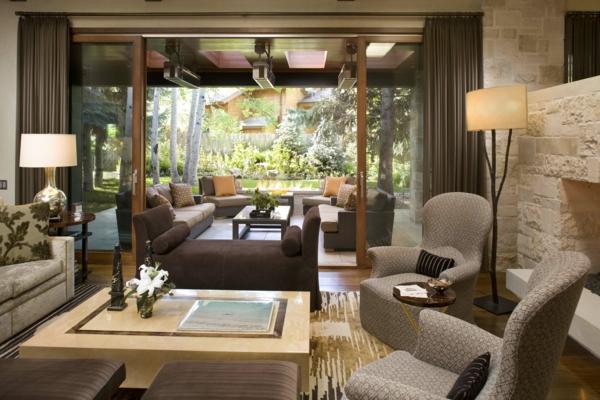 Coole Wohnzimmer Pflanzen : moderne farben in einem gemütlichen ...