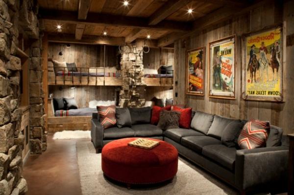 Wohnzimmer rustikal gestalten: Teil 1