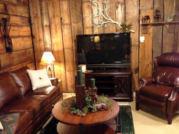 wohnzimmer-rustikal-gemütliche-beleuchtung
