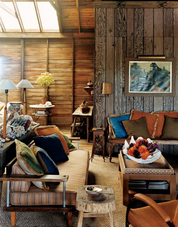 wohnzimmer-rustikal-hohe-decke