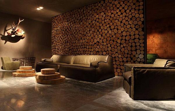wohnzimmer steinwand kamin: steinwand florina piestone. kaminofen ... - Traum Wohnzimmer Rustikal