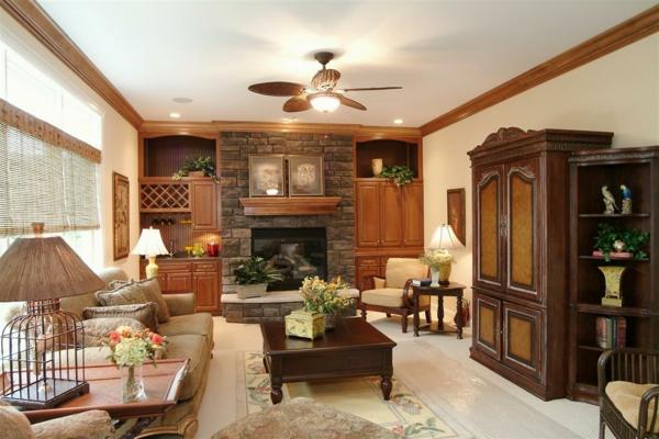 Wohnzimmer rustikal gestalten teil 1 - Stil cucine offerte ...