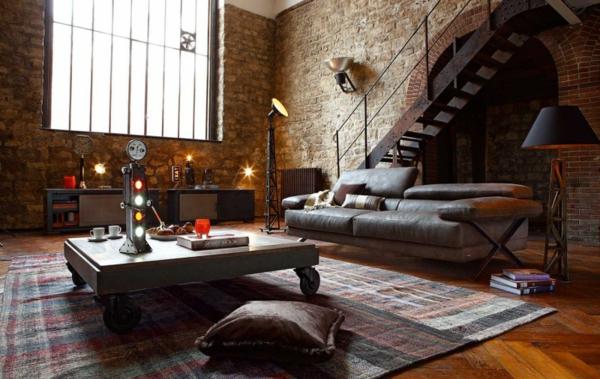 wohnzimmer-rustikal-mit-einem-großen-fenster