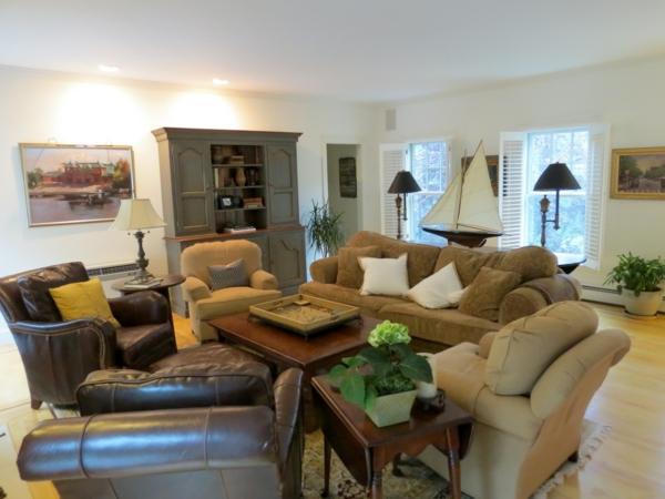 wandgestaltung wohnzimmer rustikal: wandgestaltung wohnzimmer ... - Wohnzimmer Rustikal Gestalten