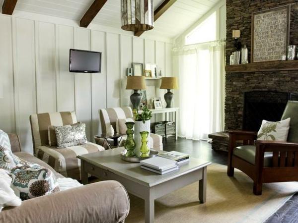 wohnzimmer-rustikal-schöner-nesttisch