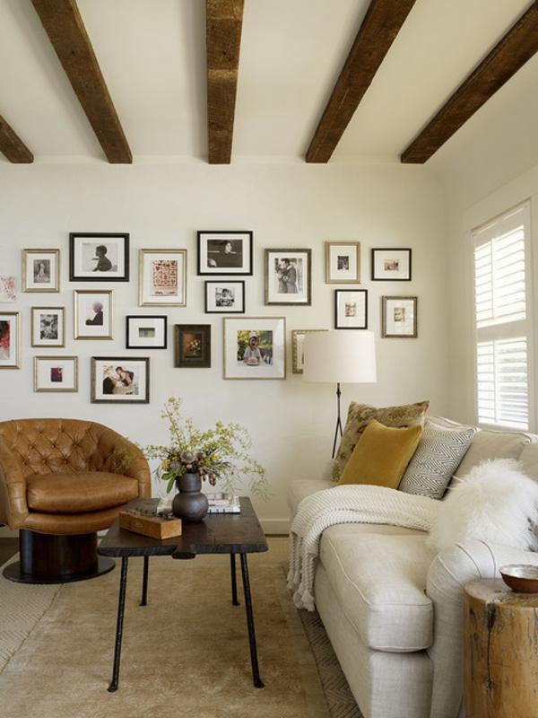 Wohnzimmer rustikal gestalten: Teil 1 - Archzine.net