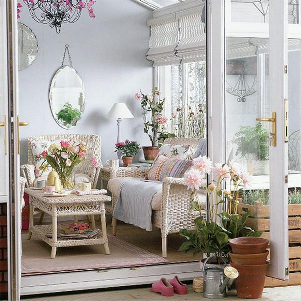 wohnzimmer-rustikal-weiße-farbe