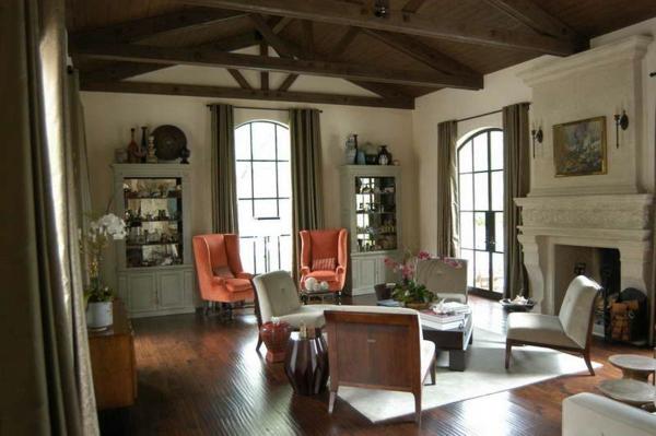 wohnzimmer-rustikal-wunderschönes-aussehen