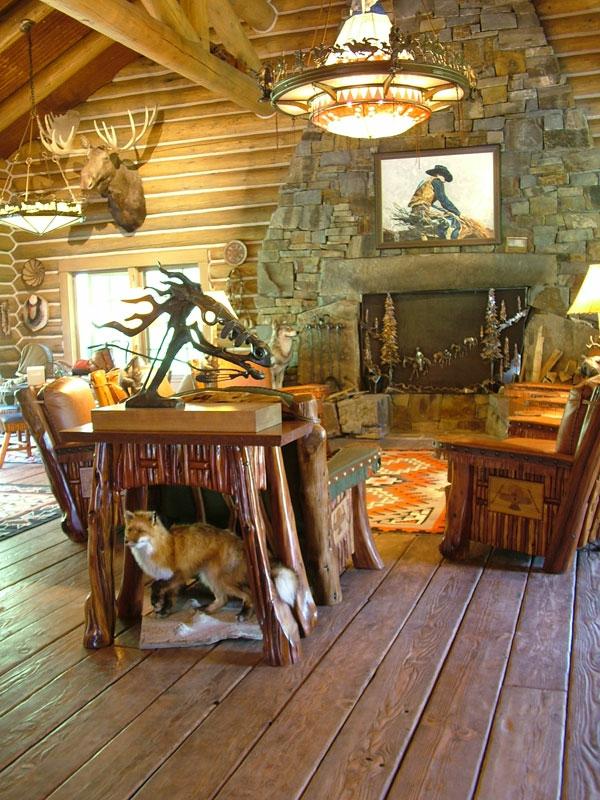 Wohnzimmer Rustikal Wunderschönes Bild