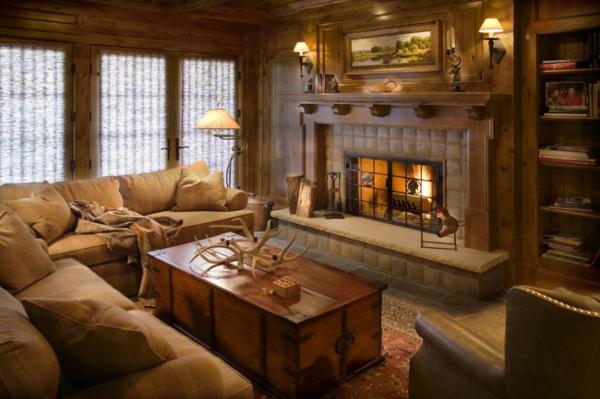 wohnzimmer rustikal:wohnzimmer-rustikal-wunderschönes-design
