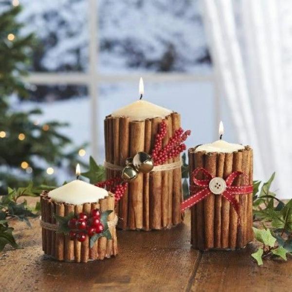 wunderbare-Bastelideen-für-Weihnachten-Kerzen