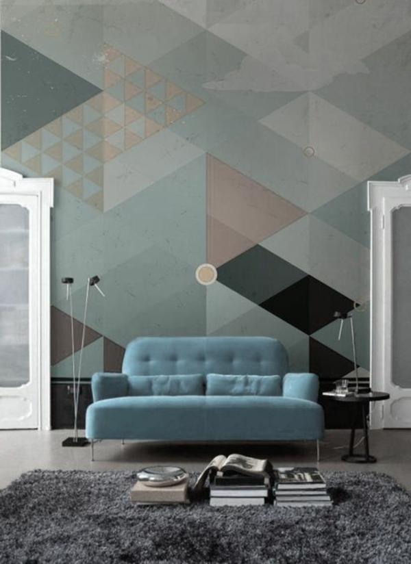 -wunderbare-Wandgestaltung- modernes-Interior-Design--