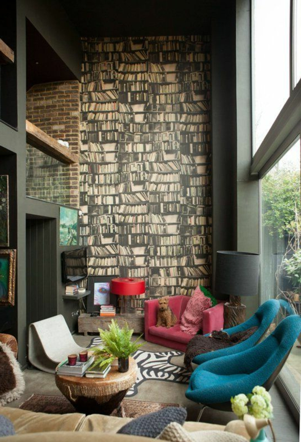 wunderbare-Wandgestaltung- modernes-Interior-Design