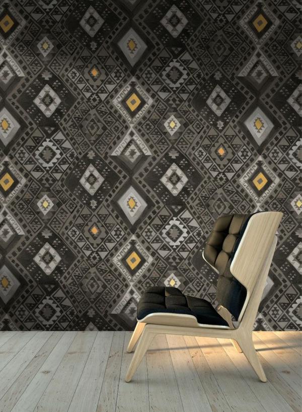 -wunderbare-Wandgestaltung- modernes-Interior-Design