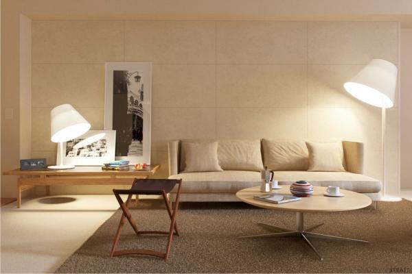 wunderbare--und-moderne--Eierschalenfarben-in-dem-Wohnzimmer