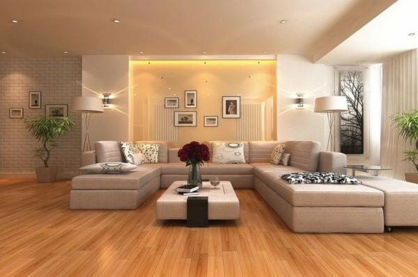 Stunning Moderne Wohnzimmer Beleuchtung Ideas - House Design Ideas