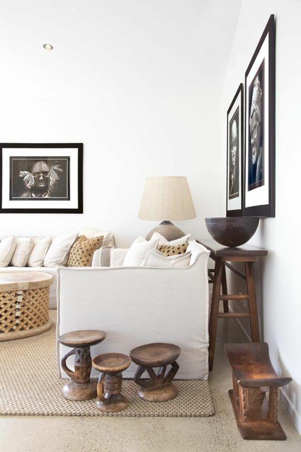 wunderbares-Design-originelles-Interior-Holzhocker
