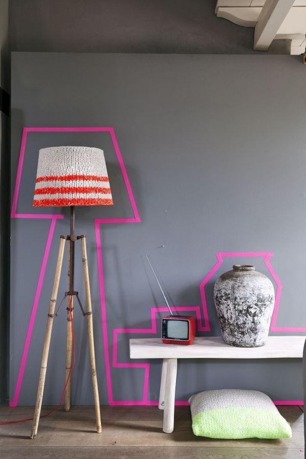 wunderbares-Interior-mit-Neonfarben--
