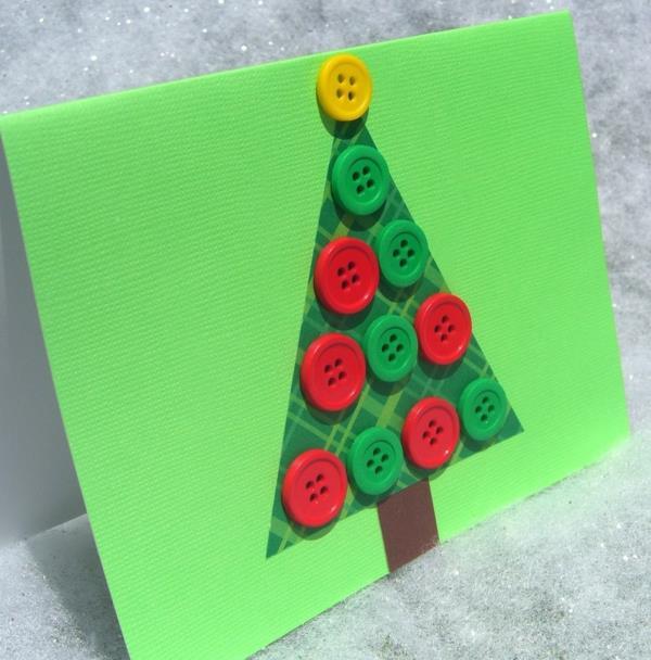 wunderschöne-Weihnachtskarten-zum-Selbermachen Schöne Weihnachtskarten selber basteln