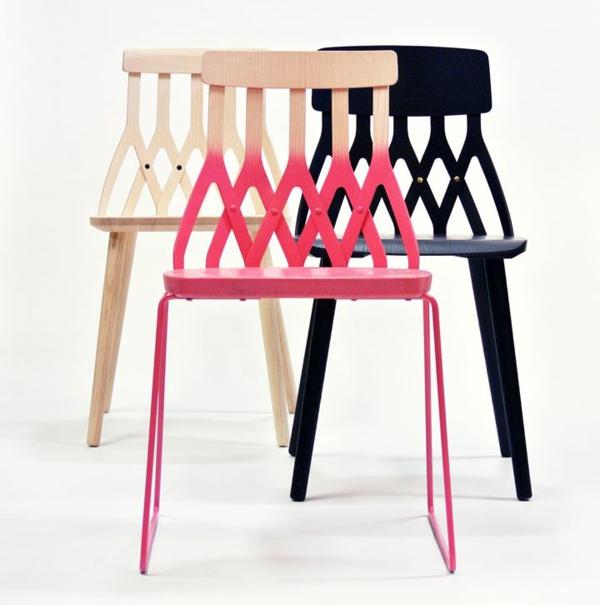 wunderschöne-farbige-Designstühle-für-eine-schicke-Wohnung