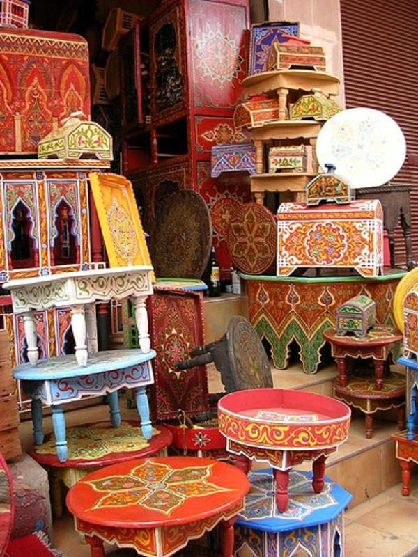wunderschöne-marokkanische-möbel